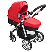 Mee-go Pramette Travel System Red
