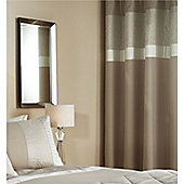 Catherine Lansfield Embossed Rose Gold 66x72 Inch Eyelet Curtains