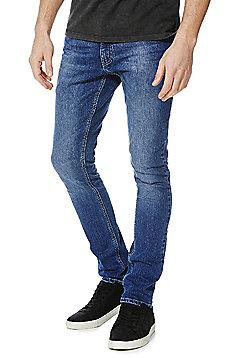 F&F Skinny Jeans - Mid wash