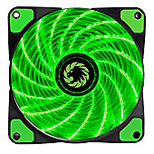 Game Max Storm Force 15 x Green LED 12cm Cooling Fan