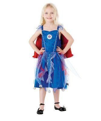 pick up f50c1 22719 Buy Rubies Fancy Dress Costume - Blue Football Fairy Rangers ...