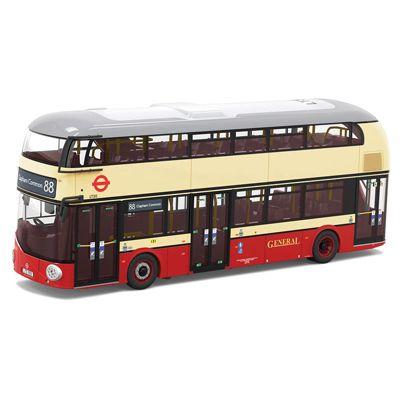 CORGI OM46619B New Routemaster, Go Ahead London, 88 Clapham Common