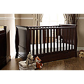 Obaby Stamford Cotbed and Under Drawer - Walnut