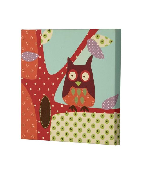 Mamas & Papas - Made With Love - Canvas Picture - Owl