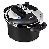 Tower 4L One Touch Pressure Cooker- Black