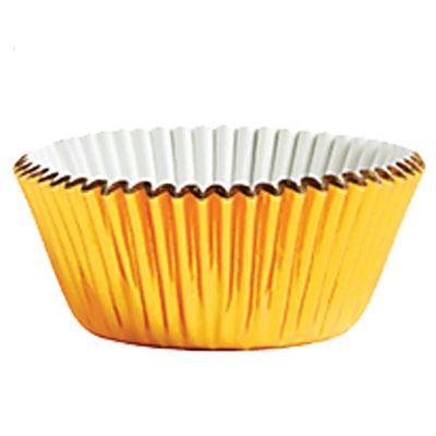 Gold Foil Cupcake Cases - 5cm