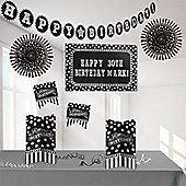 Black & White Personalisable Decorating Kit