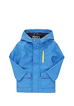 F&F Fleece Lined Mac - Blue