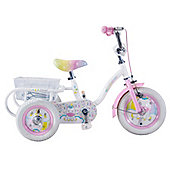 "Concept Unicorn 12"" Wheel Girls Trike"
