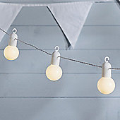 20 Warm White LED Festoon Party Lights
