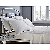Catherine Lansfield 500 Thread Count Housewife Pillowcase - Pair - Cream