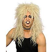 Smiffy's - Hard Rocker - Blonde Wig
