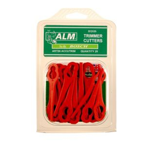 Alm Bq026 Plastic Blade Red