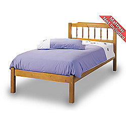 Airsprung Seattle Wooden Bed Frame - Oak - Single 3ft