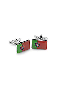 Portugese Flag Novelty Themed Cufflinks
