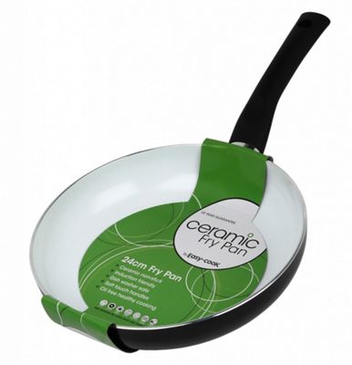 Easy Cook Non Stick Ceramic Frying Pan - 20cm