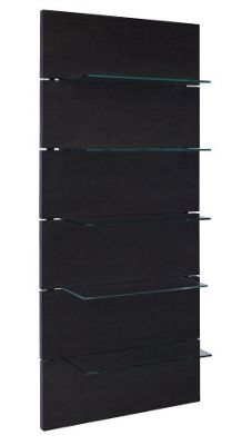 Gillmore Space Cordoba Wall Shelving Unit in Wenge
