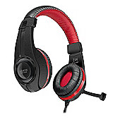 Speedlink Legatos Stereo Gaming Headset With Fold-away Microphone, Black (sl-860000-bk)