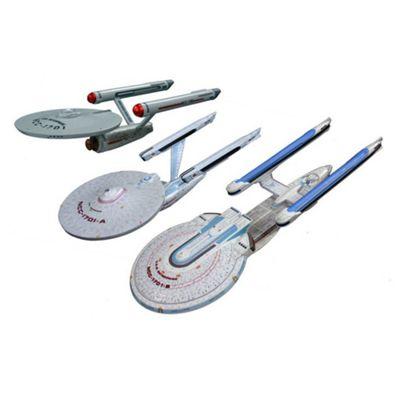U.S.S Enterprise 3 Ship Set 3 1:2500 Scale Model Kit