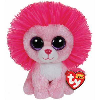 TY Beanie Boo Plush - Fluffy the Valentines Lion