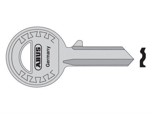 ABUS Mechanical 24-41-885 Right Hand 4 Pin Key Blank
