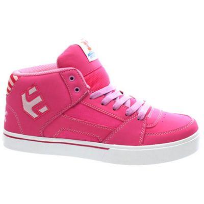 Etnies Disney Monsters RVM Kids Pink Shoe