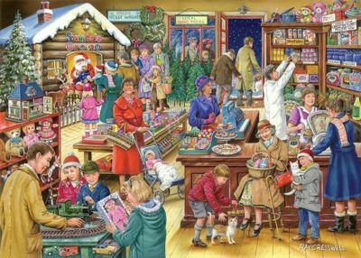 Christmas Treats 500 Piece Puzzle