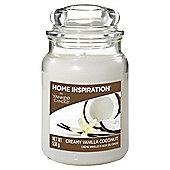 Yankee Candle Creamy Vanilla & Coconunt Large Jar