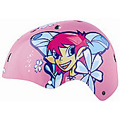 KIDZAMO GIRLS BIKE HELMET JNR H/SHELL BELLA 48/52 PINK