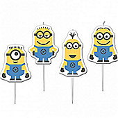 Despicable Me Minions Birthday Candles