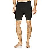 Speedo Mens Endurance Jammer Shorts - Black