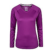 Mountain Warehouse Endurance Womens V-Neck Top ( Size: 10 )