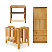 OBaby Ludlow 3 Piece Furniture Set (Country Pine)