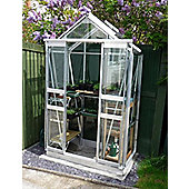 Simplicity Sandon Greenhouse 4ft2 x 2ft2 Plain aluminium