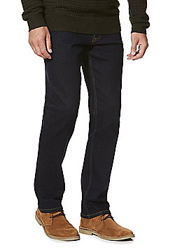 F&F Stretch Straight Leg Jeans - Indigo
