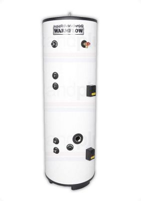 Warmflow INDIRECT Twin Coil Unvented Stainless Steel Hot Water Cylinder 250 LITRE