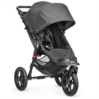 Baby Jogger Elite Single Stroller - Titanium