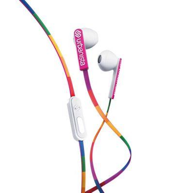 Urbanista San Francisco Earphones│Multi Color│For Android iOS Windows│Rainbow