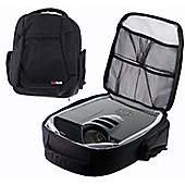 Navitech Universal Protective Portable Projector Carrying Case and Travel Bag For The Optoma GT5000