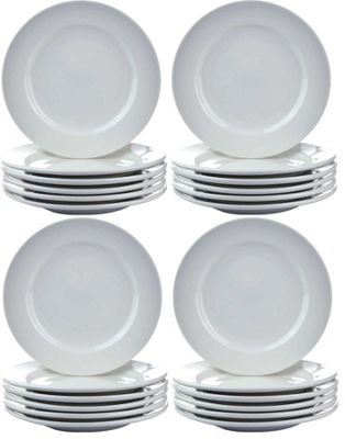 Argon Tableware Wide Rimmed Side Plates - 16.5cm (6.5