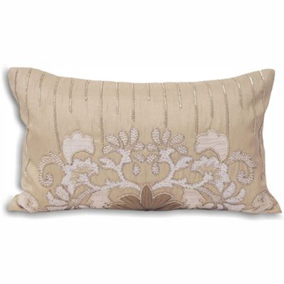 Riva Home French Collection Genevieve Taupe Cushion Cover - 30x50cm