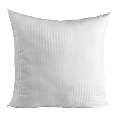Homescapes White Continental Rectangular Pillowcase 100% Egyptian Cotton Pillow Cover 330 TC, 40 x 80 cm