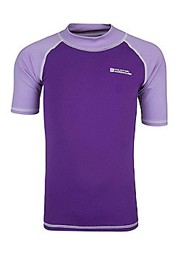 Rash Kids Swim Summer Beach High UV Protection Quick Drying Vests - Purple