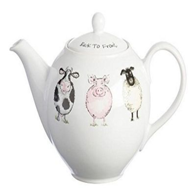 Back To Front Teapot 800Ml