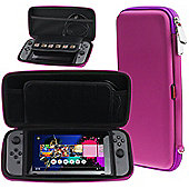 Navitech Purple Premium Compact Travel Hard Carry Case For The Nintendo Switch