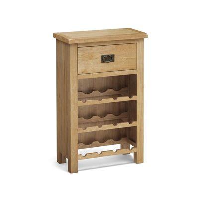 Surrey Oak Wine Cabinet