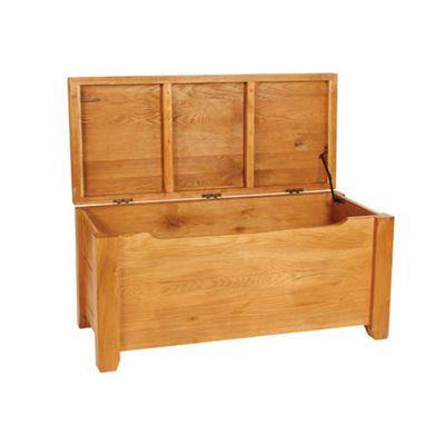 Hawkshead Calgary Oak Blanket Box
