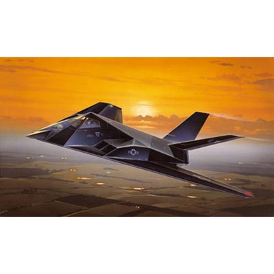 Italeri F-117A Nighthawk 189 1:72 Aircraft Model Kit