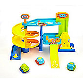 Busy Whizzy Wheels Park and Drive Garage Playset