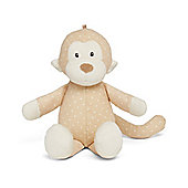 Mothercare Baby's Toy Chiming Spotty Monkey